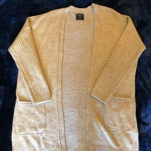 Cream super soft cardigan